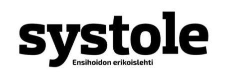 Ensihoidon erikoislehti Systole Logo