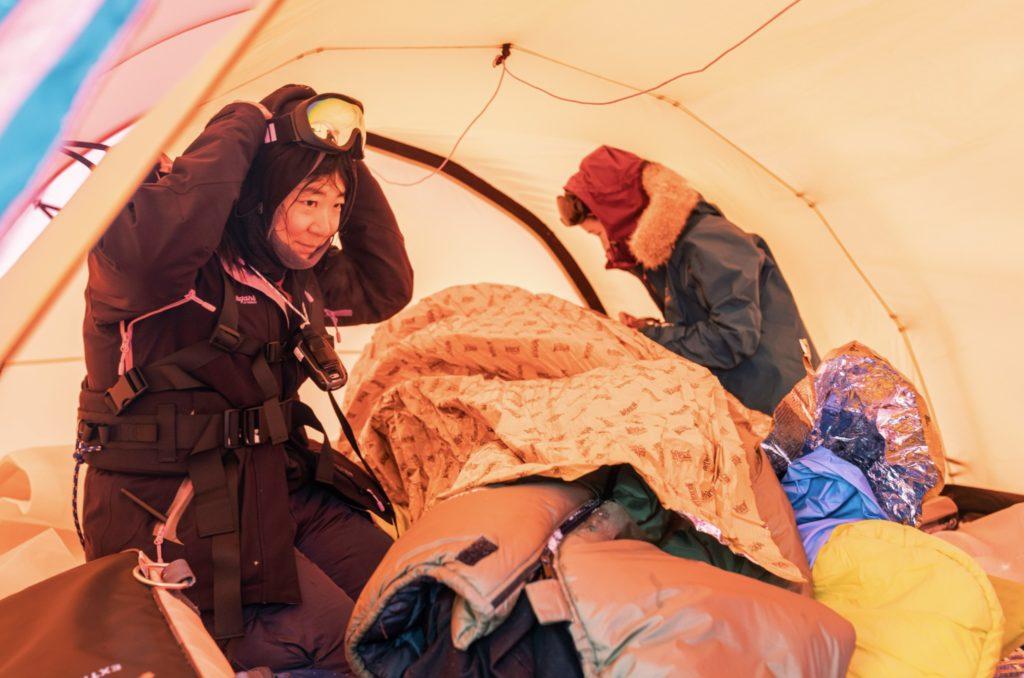 Harjoitus: Potilasta lämmitetään telttamajoituksessa.
